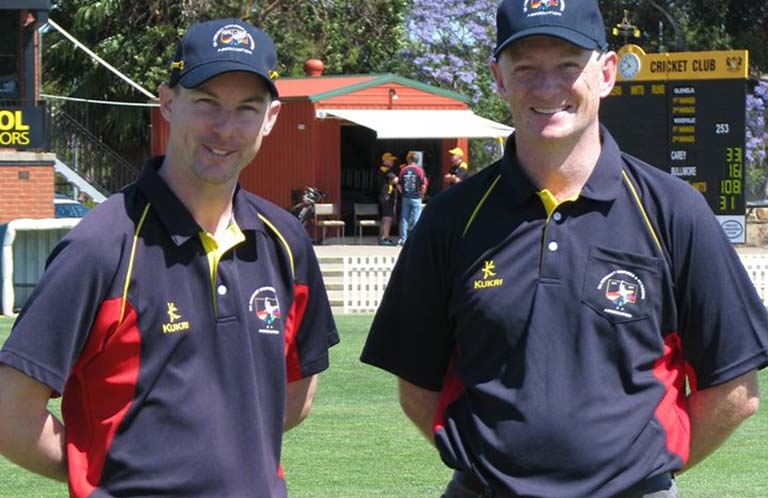 Luke Uthenwoldt and Stephen Pitts