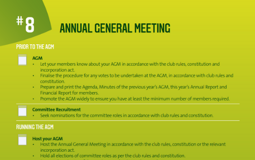 #8 Annual General Meeting